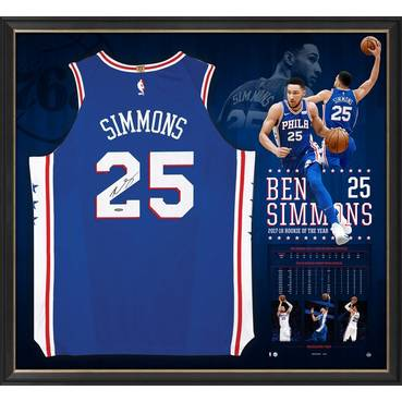 Ben Simmons Signed Rookie of the Year Jersey