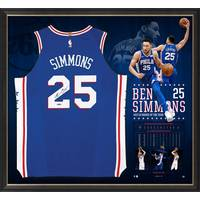 Ben Simmons Signed Rookie of the Year Jersey0