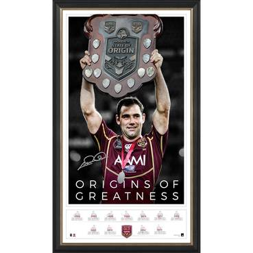 Cameron Smith Signed 'Origins of Greatness'