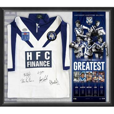 Canterbury-Bankstown Signed 'The Greatest' Jersey