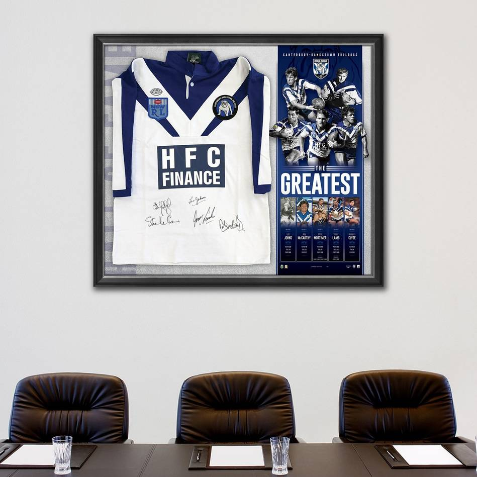 mainCanterbury-Bankstown Signed 'The Greatest' Jersey1