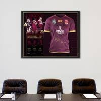 Queensland Maroons Signed 'Immortality'1