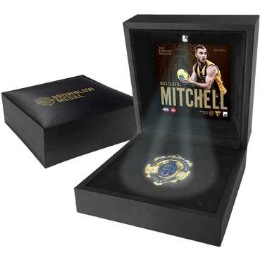 Tom Mitchell Boxed Brownlow Medal Display