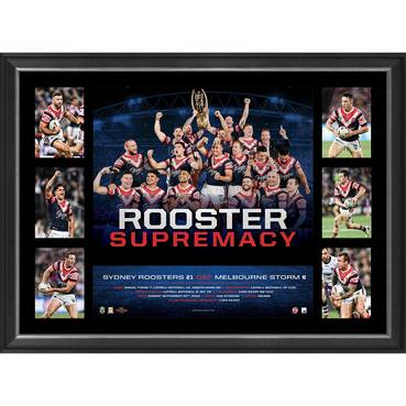 Sydney Roosters 2018 NRL Premiers 'Rooster Supremacy'