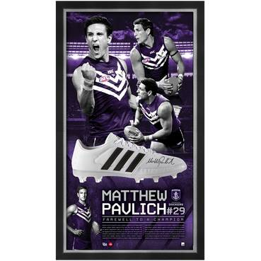 MATTHEW PAVLICH SIGNED 'FAREWELL TO A CHAMPION'