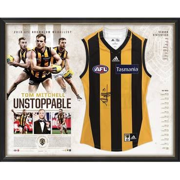 Tom Mitchell Signed 'Unstoppable'