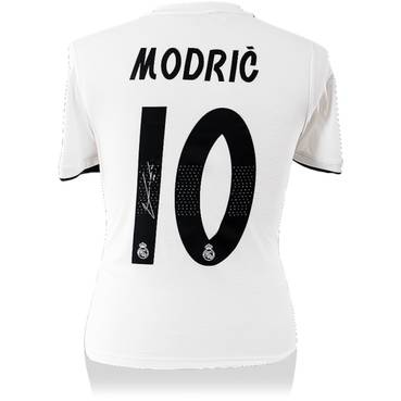 Luka Modric Signed Real Madrid Jersey