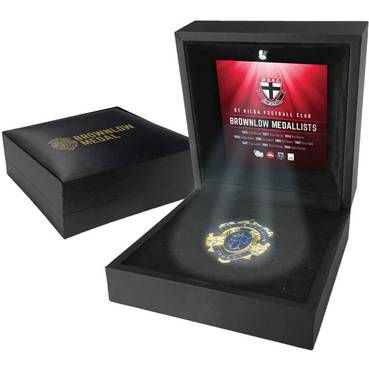 ST KILDA BROWNLOW MEDAL DISPLAY