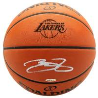LeBron James Signed Basketball0