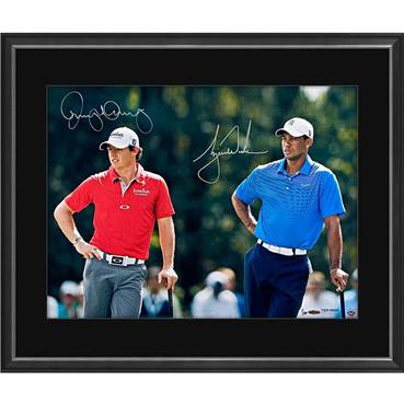 TIGER WOODS/RORY MCILROY SIGNED 'FOCUSED'