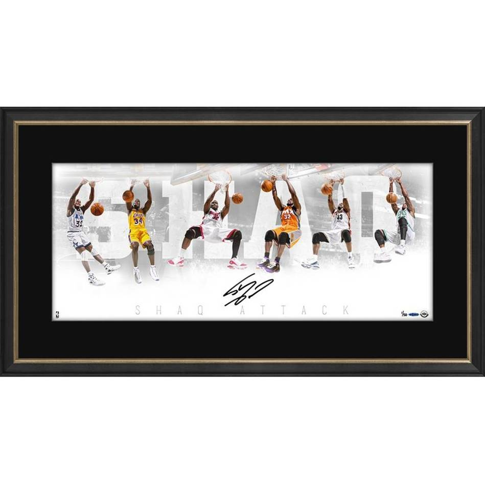 mainSHAQUILLE O'NEAL SIGNED 'SHAQ ATTACK'0