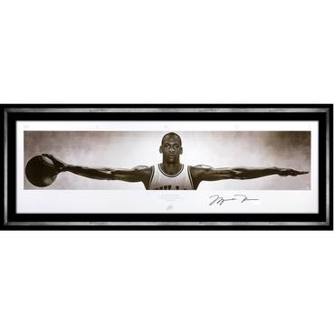 Michael Jordan Signed Nike Wings