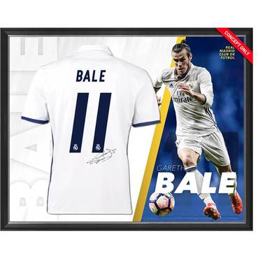 Gareth Bale Signed Real Madrid Shirt