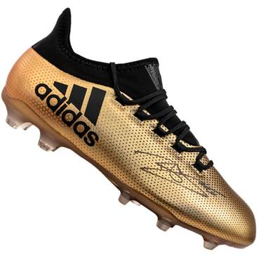 Dele Alli Signed Gold Adidas X Boot