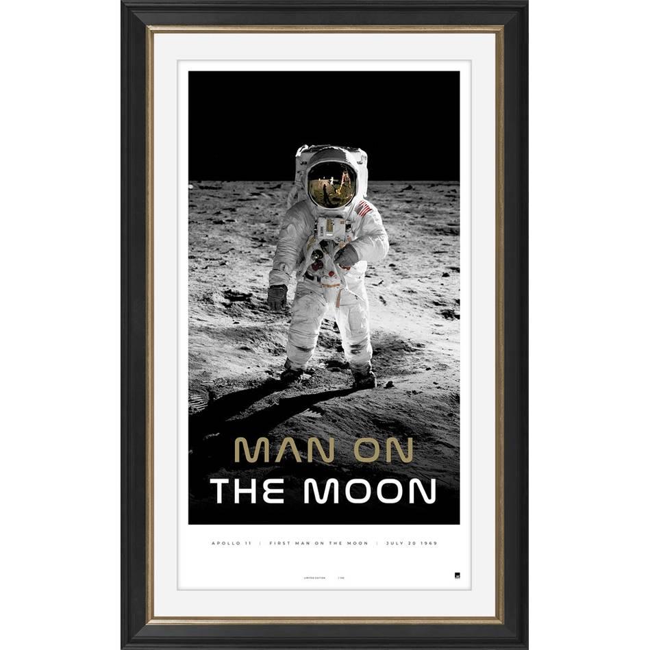 main'Man on the Moon' Moon Landing Icon Series0