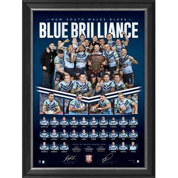 NSW Blues 2019 State of Origin 'Blue Brilliance'