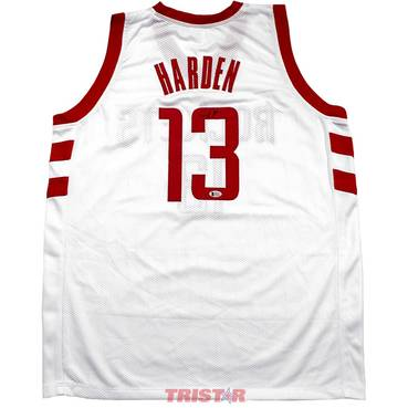 James Harden Signed Houston Rockets Custom Jersey