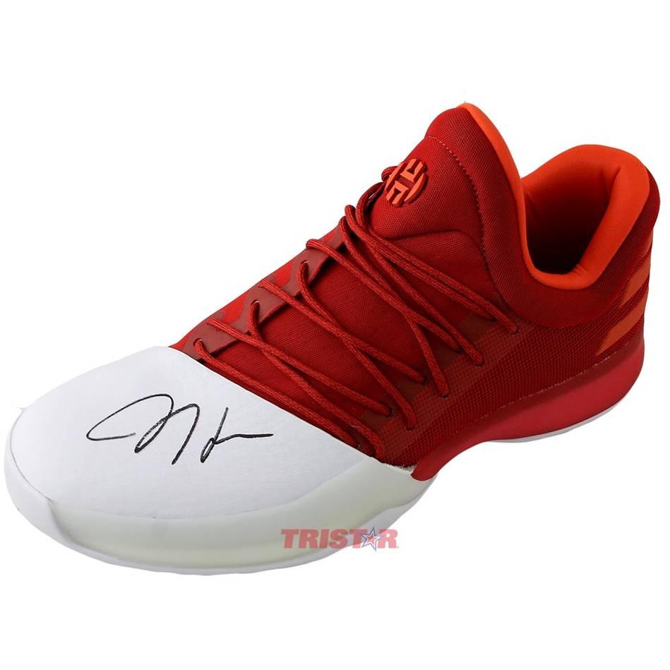 mainJames Harden Signed Adidas Vol.1 Shoe0