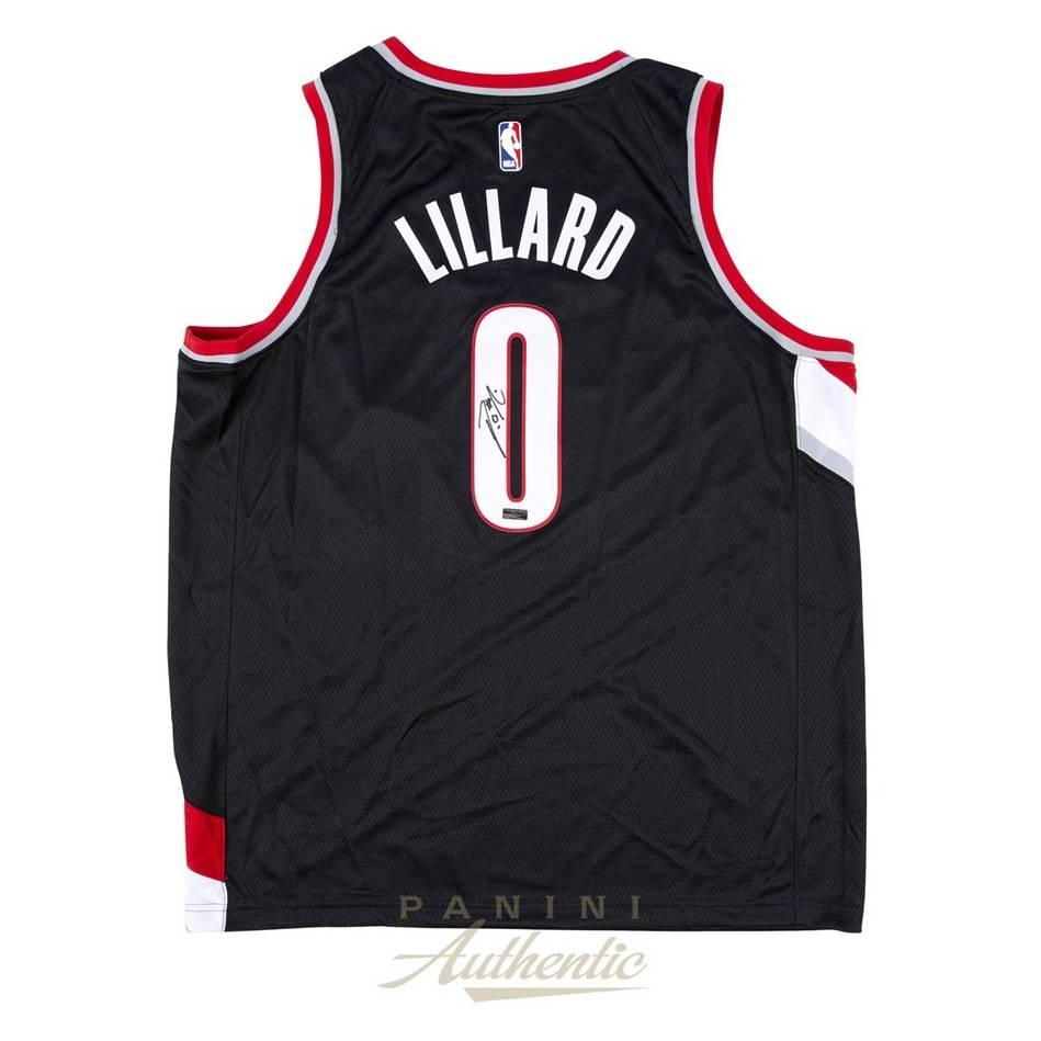 mainDamian Lillard Signed Portland Jersey0