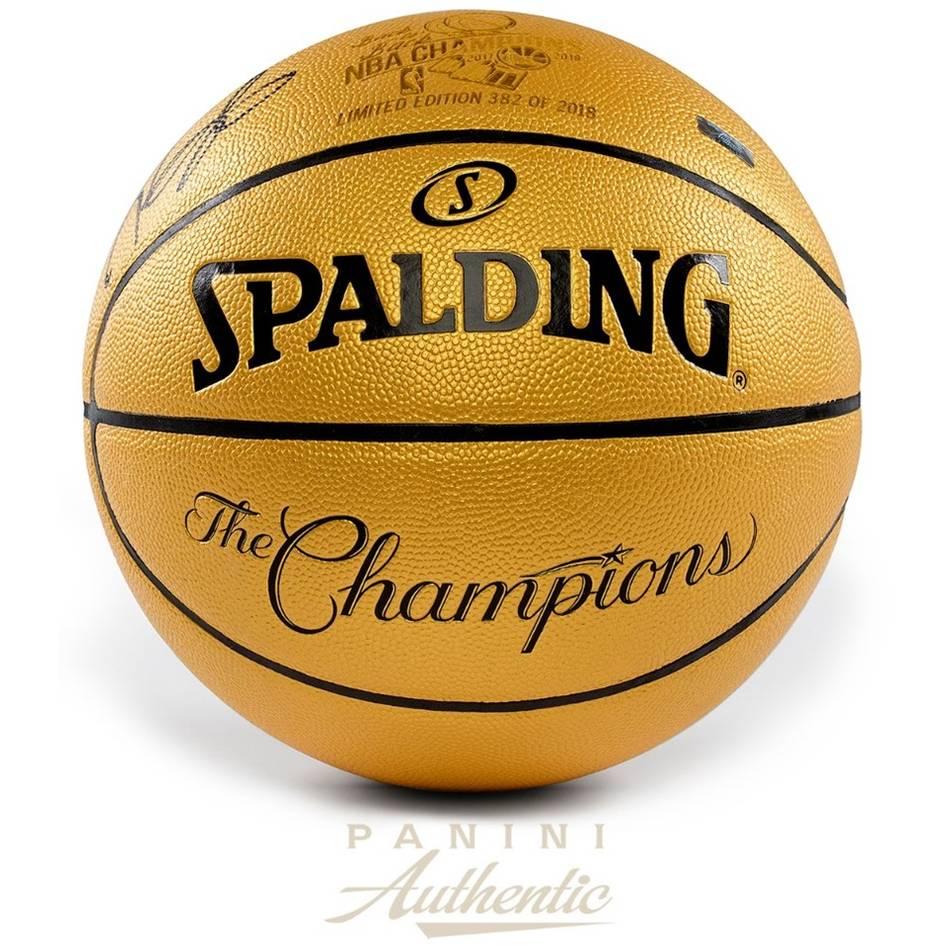 mainKevin Durant Signed Commemorative Championship Basketball0