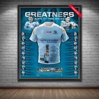Paul Gallen Signed 'Greatness' Retirement Jersey Display1