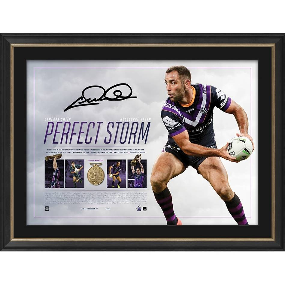mainCameron Smith Signed 'Perfect Storm'0