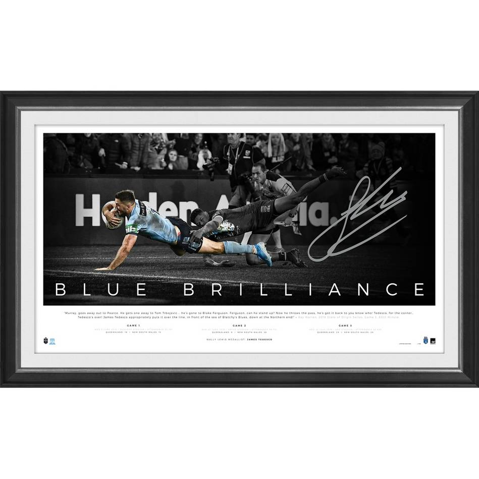 mainJames Tedesco Signed 'Blue Brilliance'0