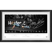 James Tedesco Signed 'Blue Brilliance'0