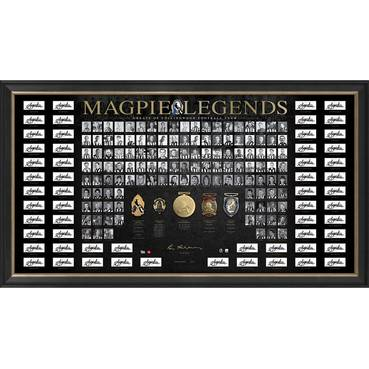 COLLINGWOOD 125th ANNIVERSARY SIGNED 'MAGPIE LEGENDS'