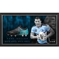 Paul Gallen Signed Boot Display0