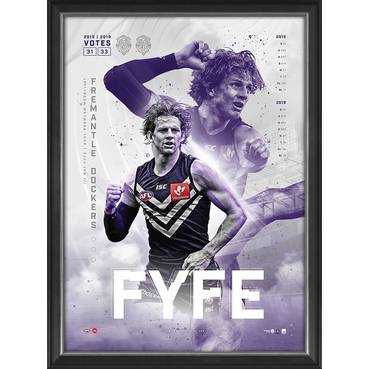 Nat Fyfe 2019 Brownlow Medal Sportsprint