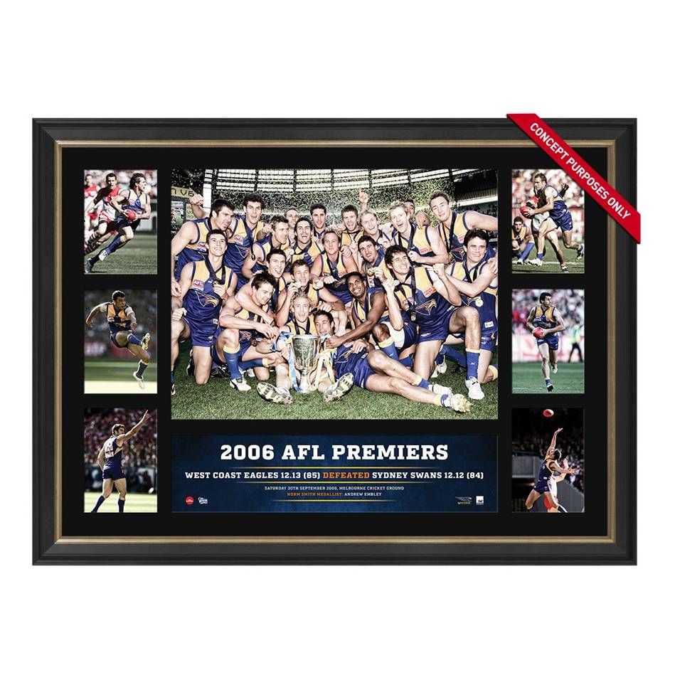 mainWEST COAST 2006 PREMIERS TRIBUTE FRAME0