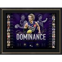 Nat Fyfe Signed 2019 Brownlow Medal Lithograph0