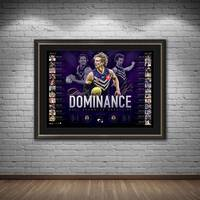 Nat Fyfe Signed 2019 Brownlow Medal Lithograph1
