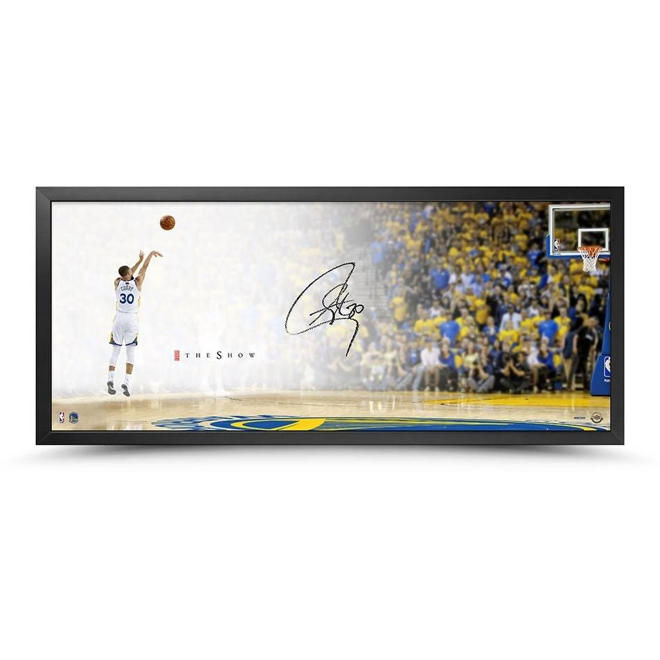 mainStephen Curry Signed 'The Show'0