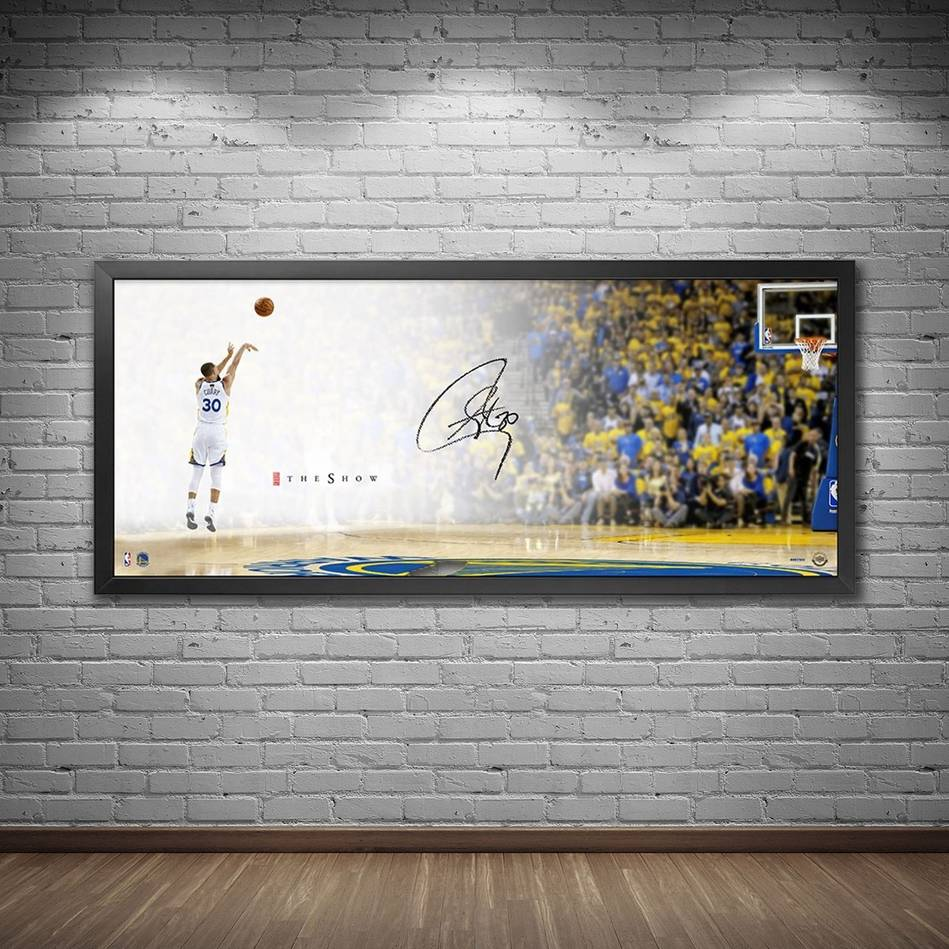 mainStephen Curry Signed 'The Show'1
