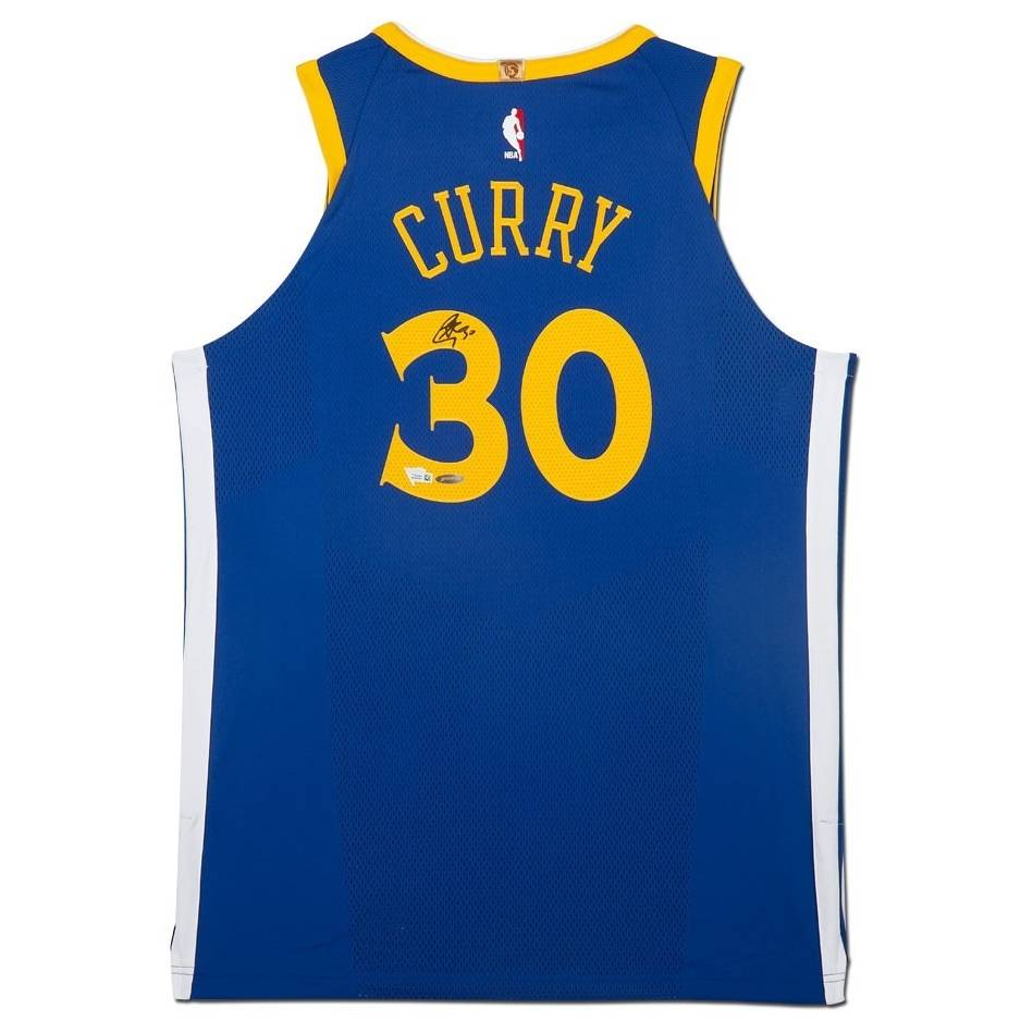 mainStephen Curry Signed Golden State Warriors Jersey0