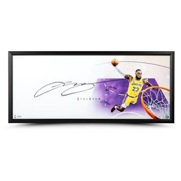 LeBron James Signed 'The Show'