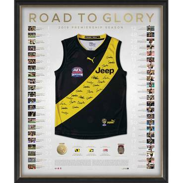 Richmond 2019 Premiers Team Signed Guernsey – Deluxe