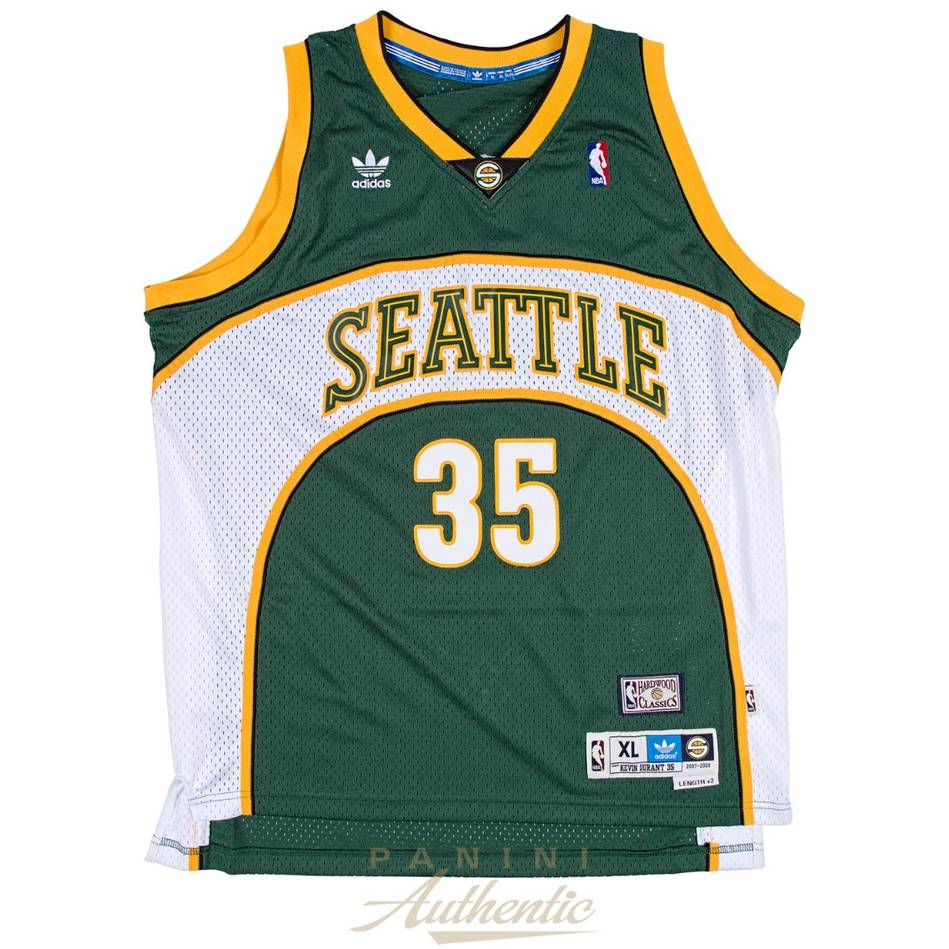 mainKevin Durant Signed & Inscribed Seattle Sonics Jersey1