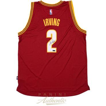 Kyrie Irving Signed Cleveland Cavaliers Jersey