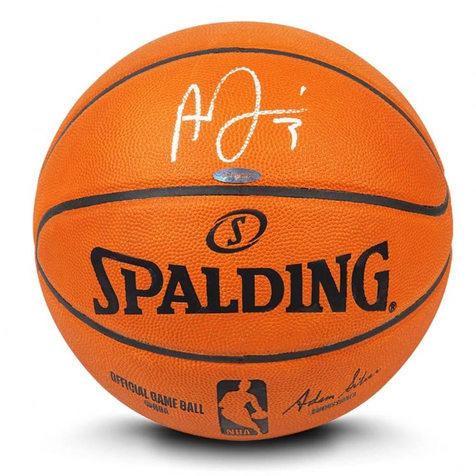 mainAnthony Davis Signed Basketball0