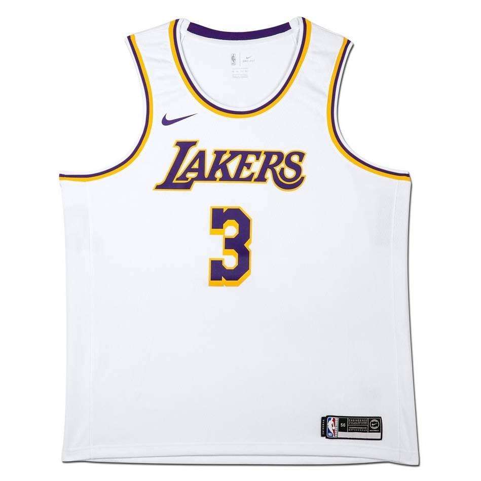 mainAnthony Davis Signed Los Angeles Lakers White Jersey1