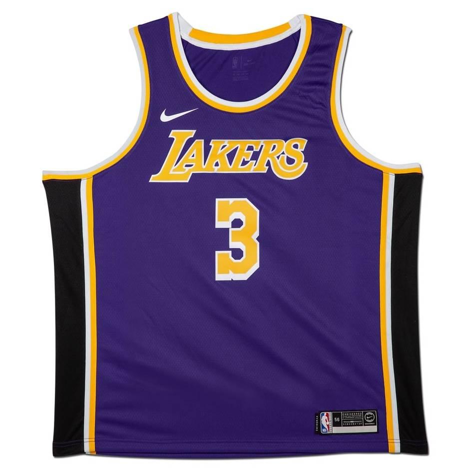 mainAnthony Davis Signed Los Angeles Lakers Purple Jersey1