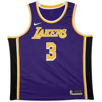 Anthony Davis Signed Los Angeles Lakers Purple Jersey1