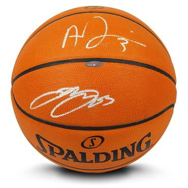 LeBron James & Anthony Davis Signed Basketball