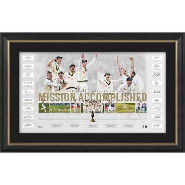 Australia Team Signed Ashes Success Lithograph