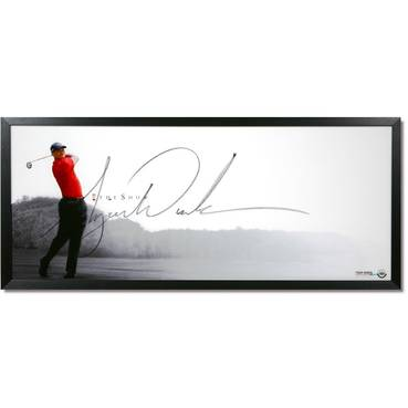 Tiger Woods Signed 'The Show'