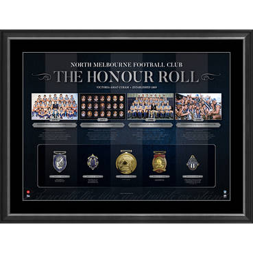 NORTH MELBOURNE FOOTBALL CLUB 'THE HONOUR ROLL'