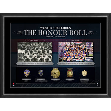 WESTERN BULLDOGS 'THE HONOUR ROLL'